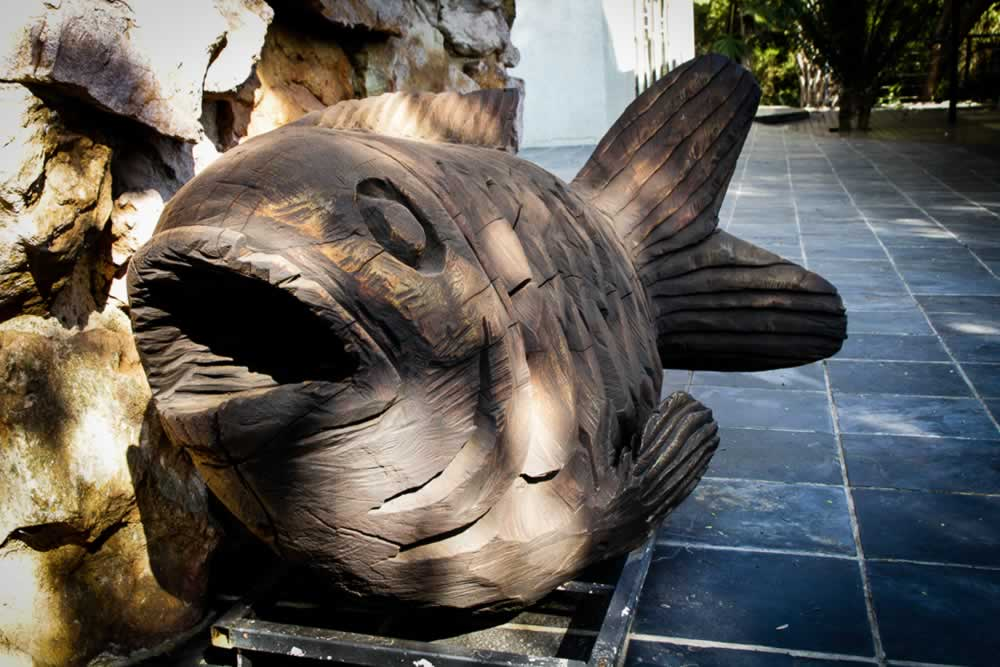 Modjadji House - Fish Sculpture